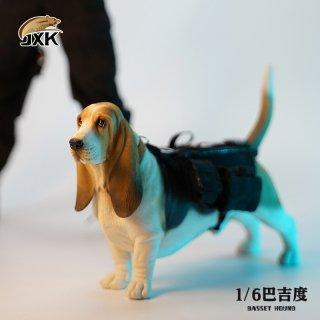 予約 送料無料 1/6 JXK studio JXK077 バセット・ハウンド犬