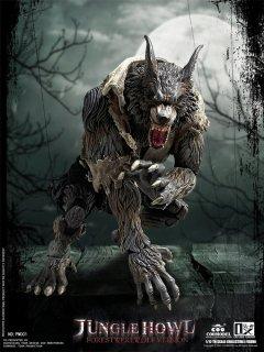予約 送料無料  1/12 COOMODEL x OUZHIXIANG  PM001 Palmtop Monsters - Jungle Howl (Forest Werewolf Standard)