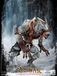 予約 送料無料 1/12 COOMODEL x OUZHIXIANG  PM003 Palmtop Monsters-Snowfield Slaughter Bloody White Werewolf