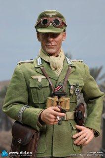 予約 送料無料 1/6 DID D80151 第二次世界大戦 ドイツアフリカ軍団大尉 欧米男性フルセット