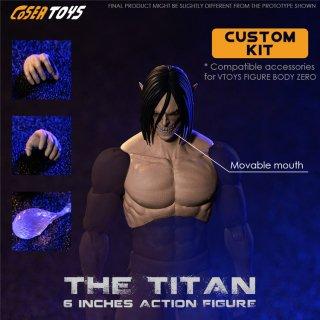 予約 送料無料  1/12 COSER TOYS AD-002 THE TITAN 巨人 エレン アジアン男性ヘッドと手形とクリスタル