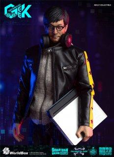 予約 送料無料 1/6 Worldbox AT035  technical geek ITハッカー アジアン男性フルセット