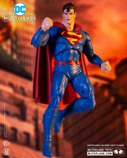 予約 送料無料  1/12 Mcfarlane TOYS 15183  7インチ スーパーマン 欧米男性フルセット