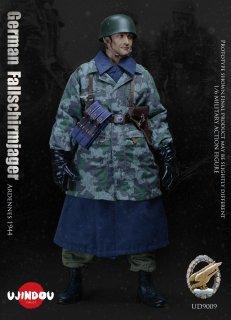 予約 送料無料 1/6 UJINDOU UD9009  第二次世界大戦 バルジの戦い ドイツ軍空降兵 欧米男性フルセット
