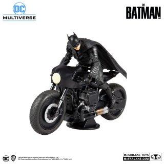 予約 送料無料  1/12 Mcfarlane TOYS 15713 7インチ バットマンバイク