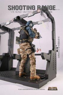 予約 送料無料 1/6 mini times toys M031 Shooting Range 射撃場