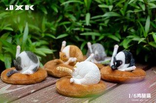 予約 送料無料 1/6 JXK studio JXK091 猫とマット