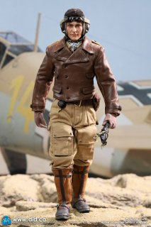 予約 送料無料 1/6 DID D80154 アフリカの星 第二次世界大戦 ヨアヒム・マルセイユ ドイツ空軍 エース・パイロット