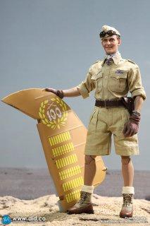 予約 送料無料 1/6 DID E60060 アフリカの星 第二次世界大戦 ヨアヒム・マルセイユ ヘッドとパーツ