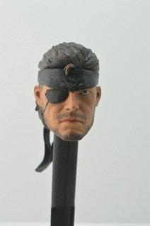 送料無料 1/6 DIY メタルギアソリッド Snake ヘッド