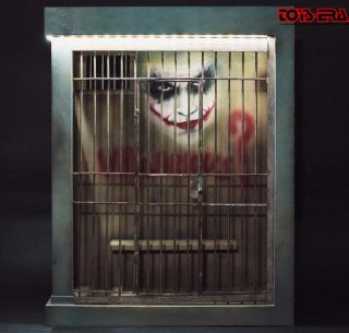 1/6 Toys Era ジョーカー ジオラマ Joker Jail cell Diorama LEDライト付け