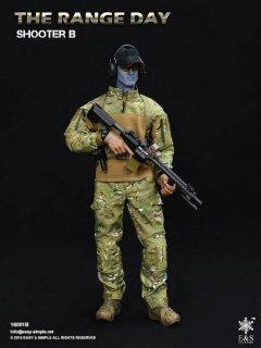予約 1/6  Easy&Simple   ES1601B The Range Day Shooter ザ・シューター B