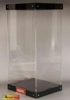 送料無料 1/6 PANZER BOX B-01 フィギュア展示用 LED付け 壁掛け可能 アクリル樹脂収納ボックス