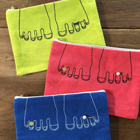 Frida Flatポーチ Mサイズ カラー
