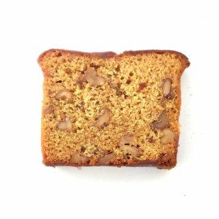 くるみとココナッツシュガーの米粉のパウンド(グルテンフリー)