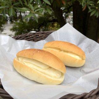 【クール冷凍便】自家製ミルククリームコッペ(四つ葉バター使用)