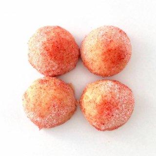 米粉のスノーボール(いちご)(グルテンフリー)