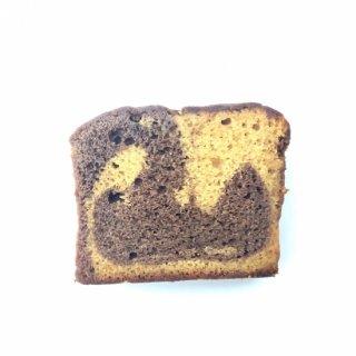 ココアとココナッツシュガーの米粉パウンド(グルテンフリー)