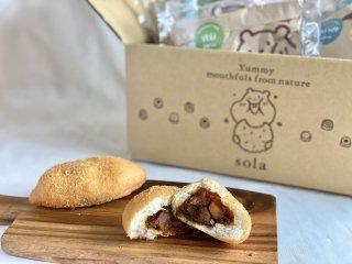 【冷凍】自家製カレーパンと揚げパン 12個セット