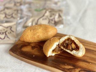 【冷凍】自家製カレーパンと揚げパン 6個セット