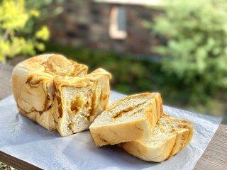 【クール冷凍便】季節のプレミアム食パン「カボチャとクルミ」