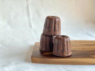 【クール冷凍便】米粉のカヌレ(チョコレート)