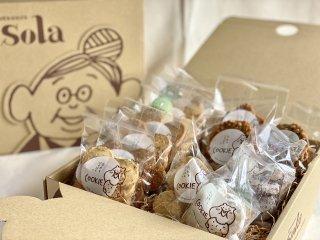 【常温】国産小麦クッキーセットM(13個入)