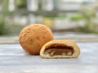 【クール冷凍便】シーフードカレーパン(天然海老使用)(辛口・お肉不使用)