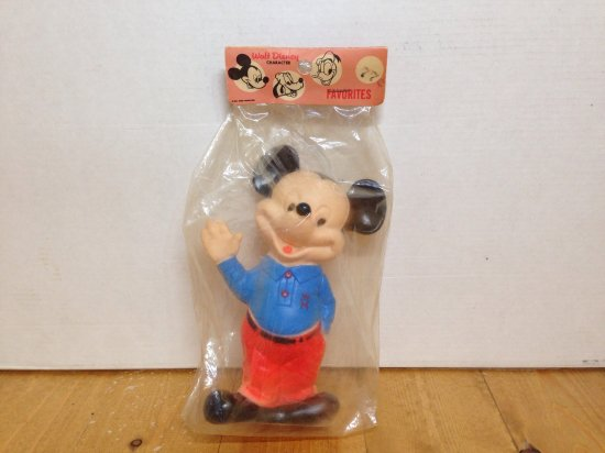 60's Mickey MouseミッキーマウスVintage Doll