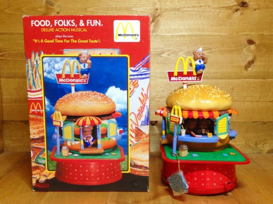 McDonald's Deluxe Action Musical ENESCO