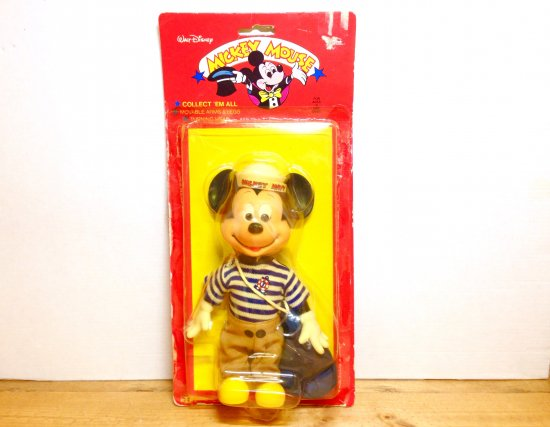 """Mickey MouseミッキーマウスVintage Doll """"Sailor"""""""