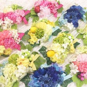 フラワーネックリボン★犬用アクセサリー★花【ドッグウェアならene☆】