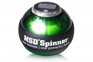 NSDスピナー PB-688C グリーン カウンター搭載 手動式 中級者用 練習用 日常トレーニング向け