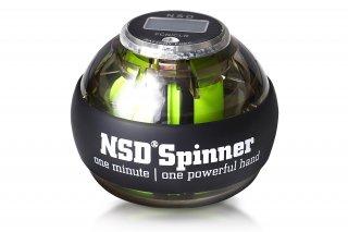 NSD Spinner(NSDスピナー) PB-688AC ブラック デジタルカウンター搭載 オートスタート型 日常トレーニング向け
