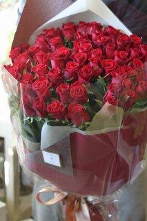 還暦祝 赤バラ60本の花束