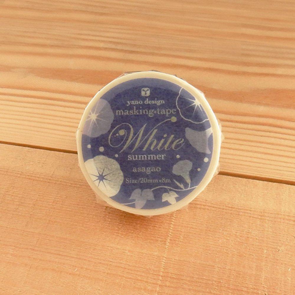 yano design - マスキングテープ White summer / asagao