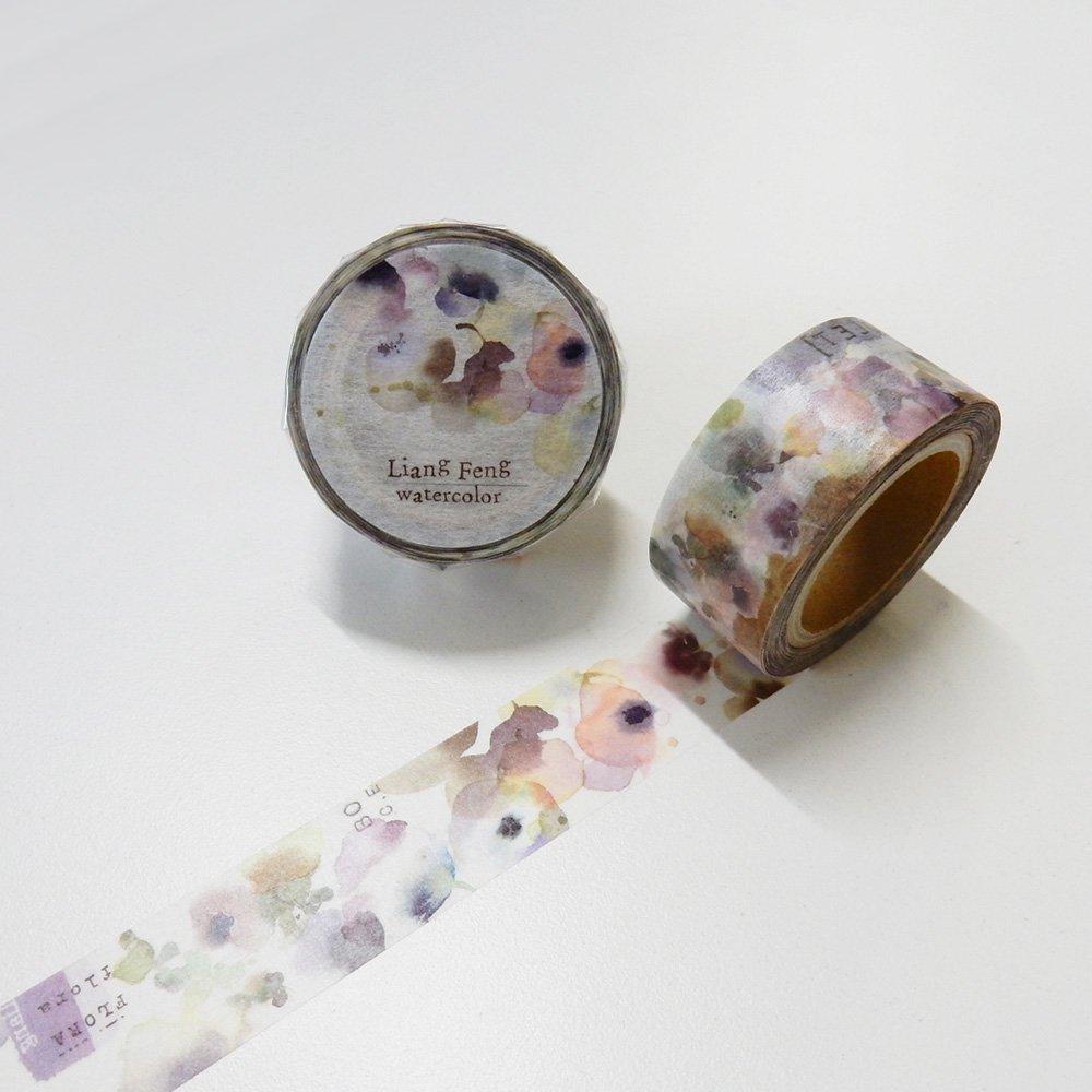 小徑文化×Liang Feng - マスキングテープ FLORA