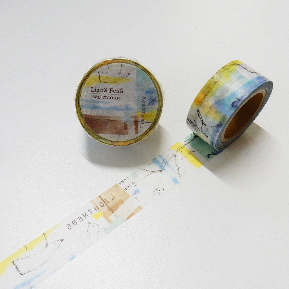 小徑文化×Liang Feng - マスキングテープ / Sea