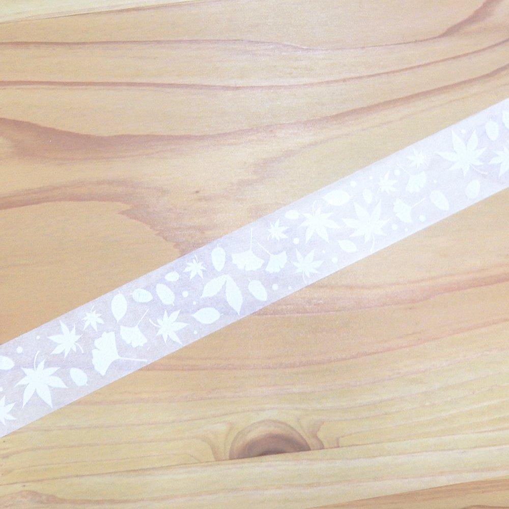 yano design - マスキングテープ White autumn / konoha&konomi