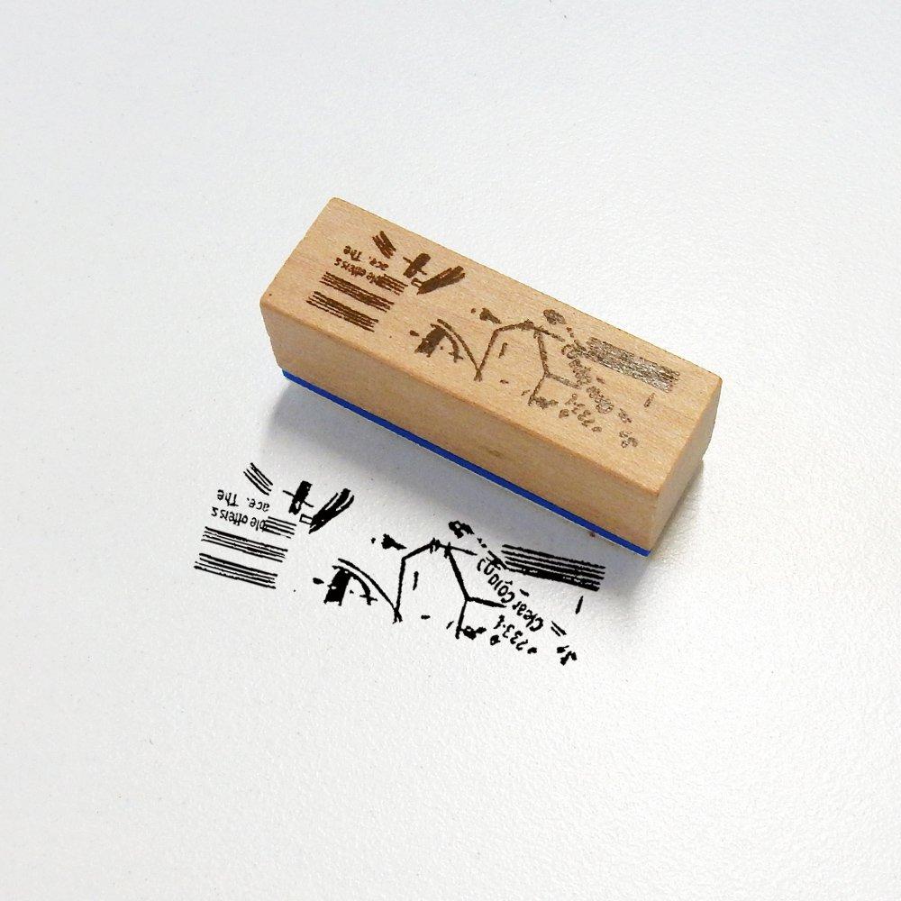 小徑文化×夏米花園 - スタンプ  B Walking / WA02