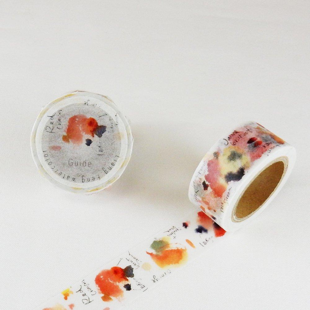 小徑文化×Liang Feng - マスキングテープ / Leather Sienna