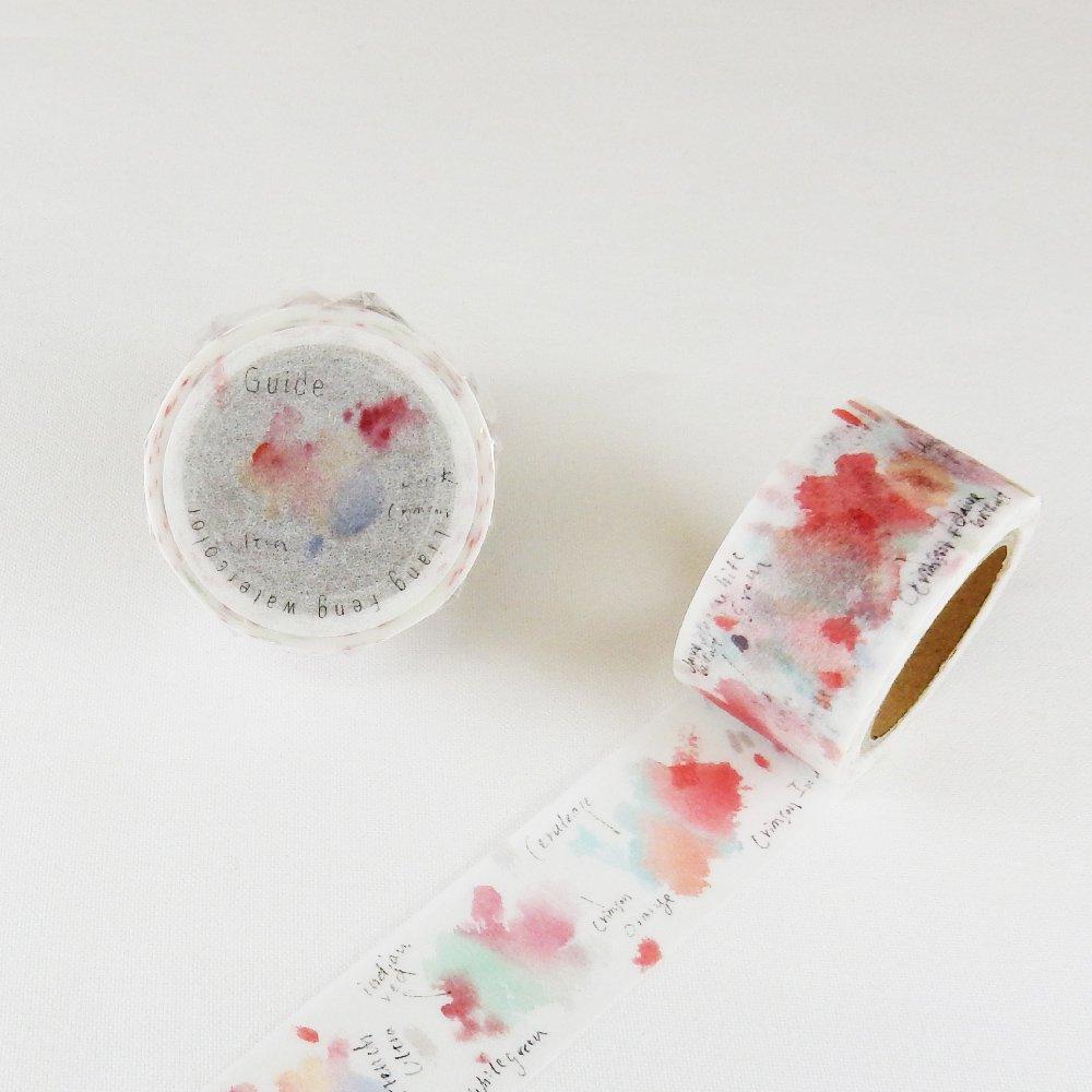 小徑文化×Liang Feng - マスキングテープ / Strawberry Pink