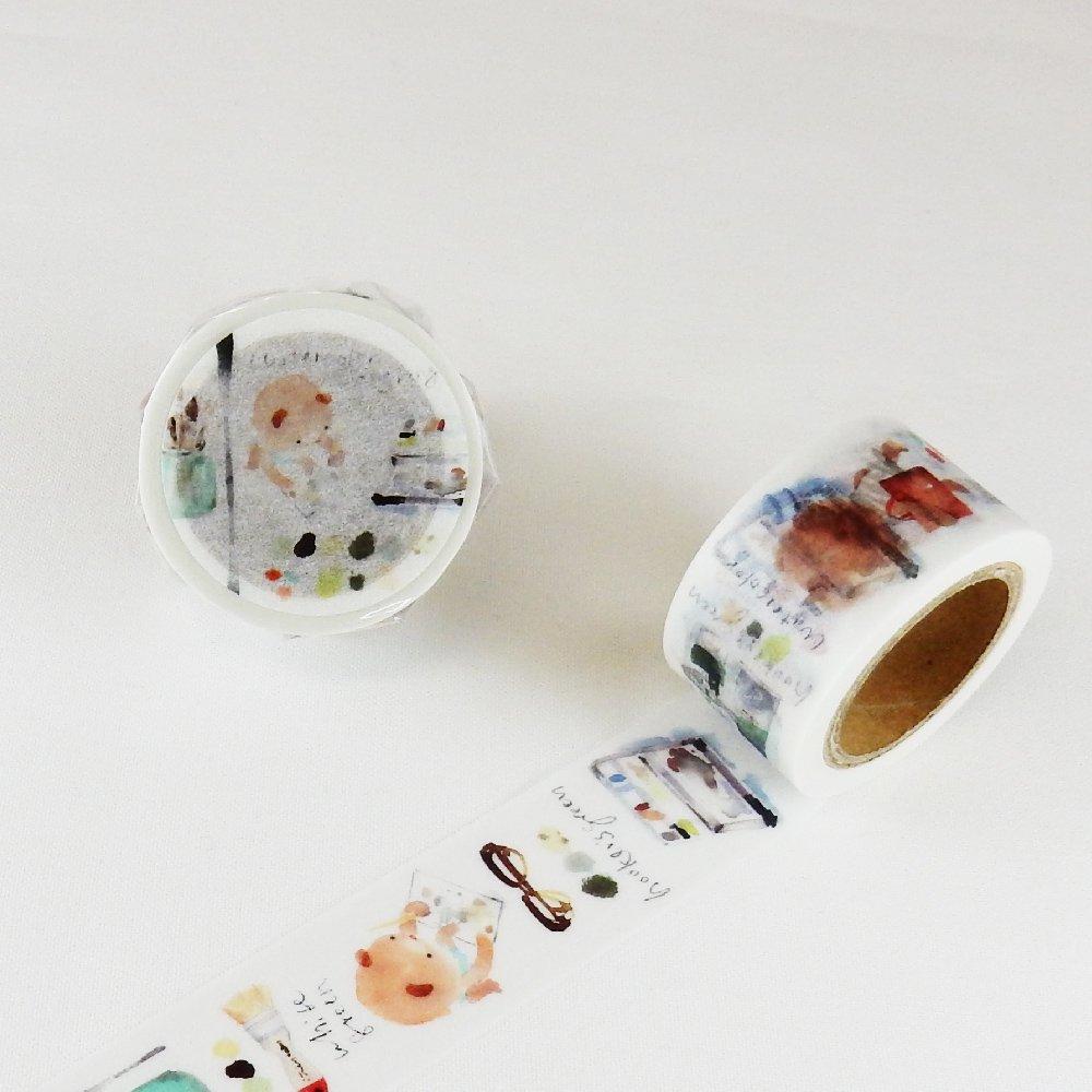 小徑文化×Liang Feng - マスキングテープ / The bear