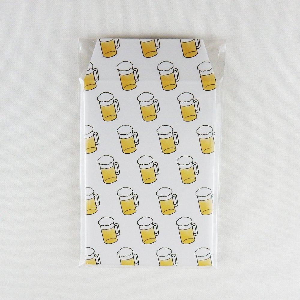 Nihongo Flashcards- ぽち袋 -beer-