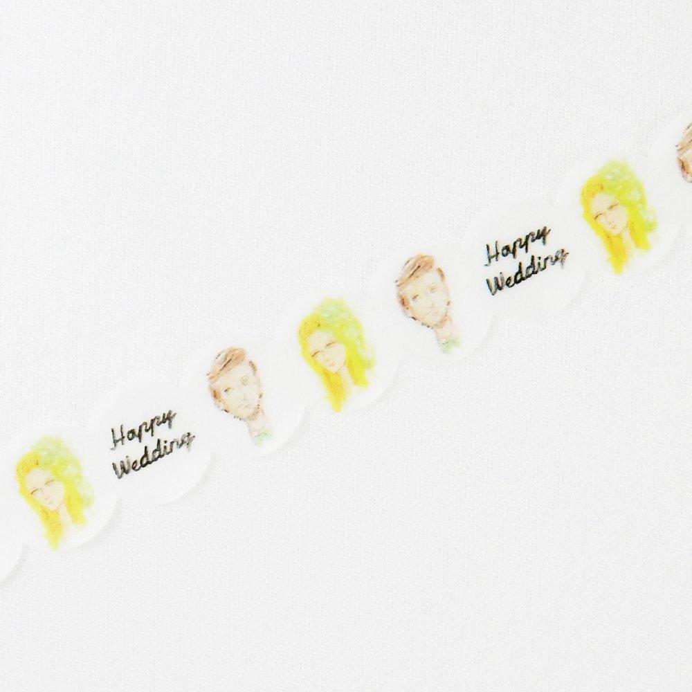 HIRANO TOSHIYUKI - マスキングテープ / Happy Wedding