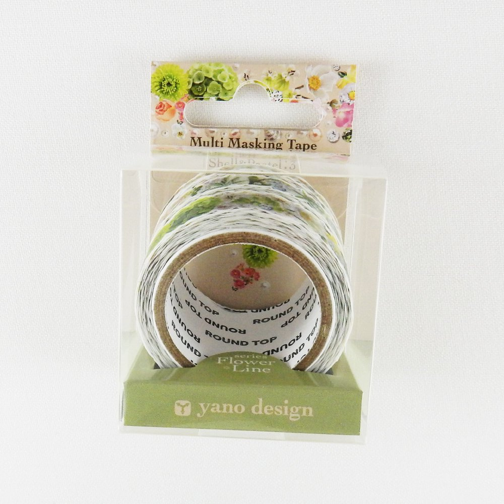 yano design - マスキングテープ Multi Masking Tape / Shell&Pastel:3