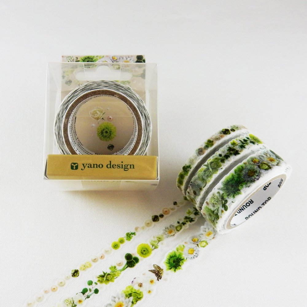 yano design - マスキングテープ Multi Masking Tape / Green&White:3