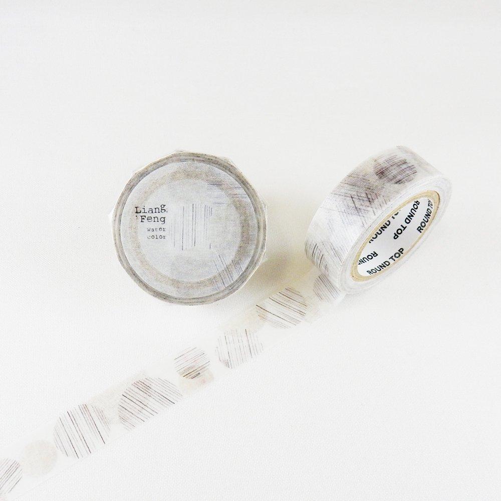 小徑文化×Liang Feng - マスキングテープ / Pencil line
