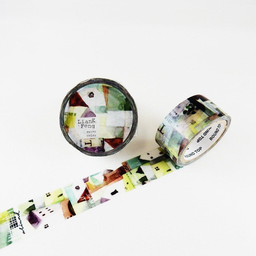 小徑文化×Liang Feng - マスキングテープ / Prism World