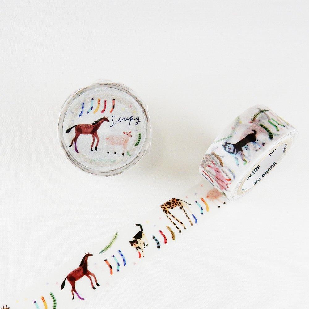 小徑文化×SoupyTang - マスキングテープ / socks